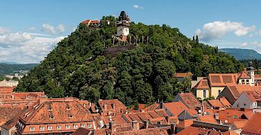 Clocktower in Graz, Austria. Wikimedia Commons:Ralf Roletschek