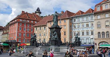 Hauptplatz of Graz, Styria, Austria. Flickr:Allie_Caulfield