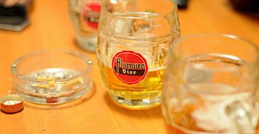 Murauer bier in Murau, Styria, Austria. Flickr:theaelix