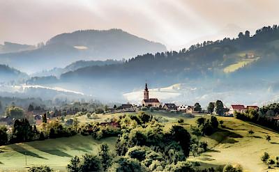 Styrian countryside near Graz, Styria, Austria. Flickr:Bernd Thaller