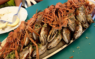 Seafood aplenty on this Dalmatian Bike Tour, Croatia. Photo via Flickr:Patty Ho