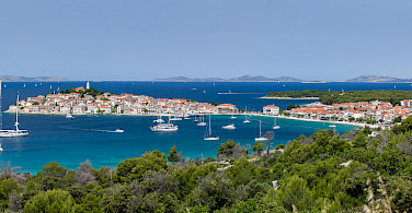 Overlooking Primosten, Croatia. Photo via Flickr:Hotel Zora Primosten