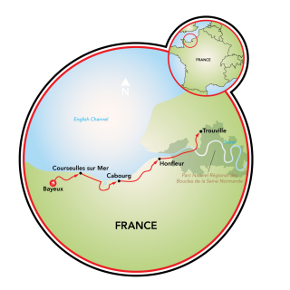 Normandia Map