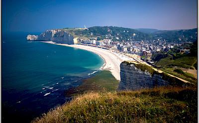 The famous Etretat cliffs in Normandy! Photo via Flickr:Moyan Brenn