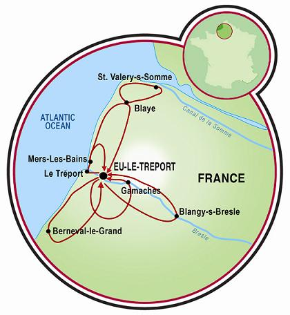Northern Normandy Bike Tour France Tripsite