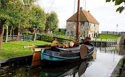 Boats in Enkhuizen in North Holland, the Netherlands. Flickr:Heribert Bechen