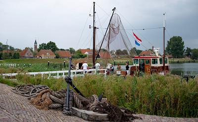 Biking through Enkhuizen, North Holland, the Netherlands. Flickr:Arend