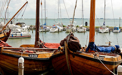 Boats in Volendam, North Holland, the Netherlands. Flickr:Esteban Luis Cabrerasan