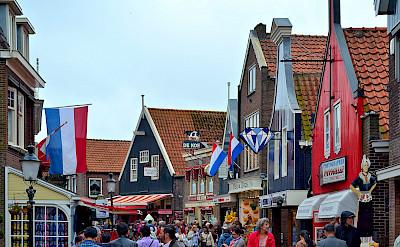 Bike rest in Volendam in North Holland, the Netherlands. Flickr:Juan Enrique Gilardi