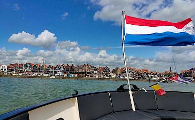 Volendam in North Holland, the Netherlands.