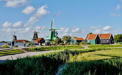 Zaandam and the Zaanse Schans in North Holland, the Netherlands. CC:Zairon