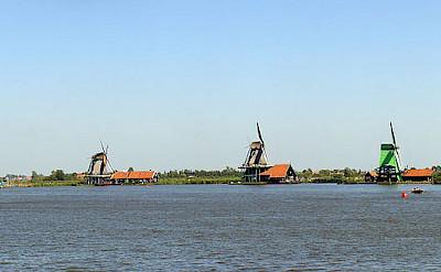 Open Air Museum in Zaanse Schans, Zaandam. Photo via Wikimedia Commons:Niels Kim