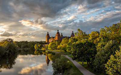 Schloss Johannisburg in Aschaffenburg, Germany. Photo via Flickr:Carsten Frenzl