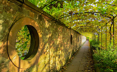 Through the tunnel in Aschaffenburg in Bavaria, Germany. Flickr:Kiefer