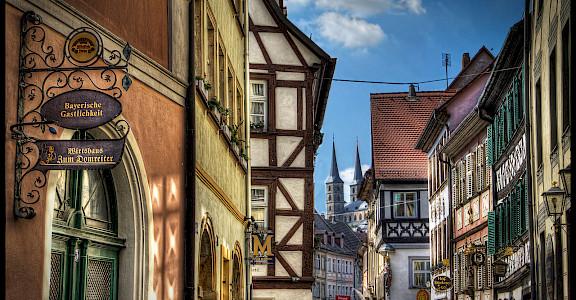 Bike rest in Bamberg, Germany. Flickr:Magnetismus