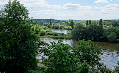 Main River flows through Aschaffenburg, Germany. Flickr:Mario Dieringer