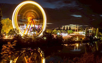Volksfest in Aschaffenburg, Bavaria, Germany. Flickr:Carsten Frenzl