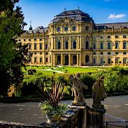 Fürstbischhöfliche Residenz in Würzburg, Germany. Wikimedia Commons:Heribert Pohl