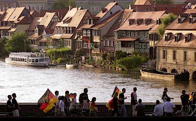 Football fans in Bamberg, Germany. Flickr:Alan Bruce