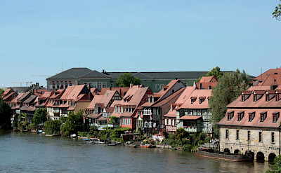 Bamberg is known as 'Little Venice'. Flickr:Mel