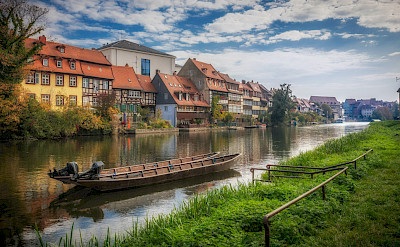 'Little Venice' of Bamberg on the Regnitz River in Germany. Flickr:Heinz Bunse