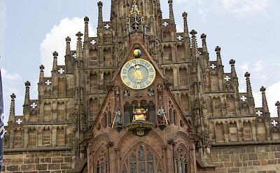 Frauenkirche am Nürnberger at Hauptmarkt in Nuremberg, Germany. Flickr:Norbert Stadt