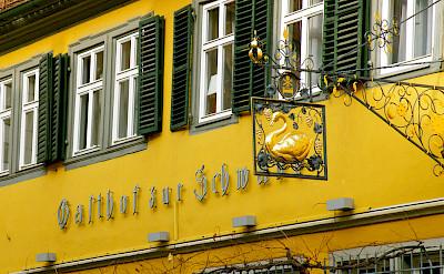 Gasthof in Volkach, Germany. Flickr:Alexander vonHalem