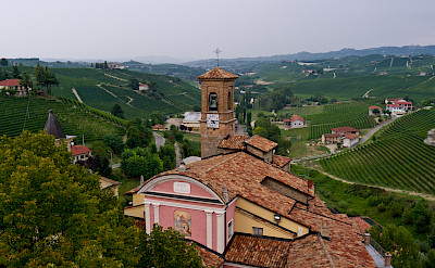 Vineyards abound in the Piedmont region. Barolo, Italy. Photo via Flickr:Megan Cole