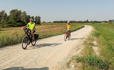 Biking the Piedmont region of Italy. ©Photo via TO