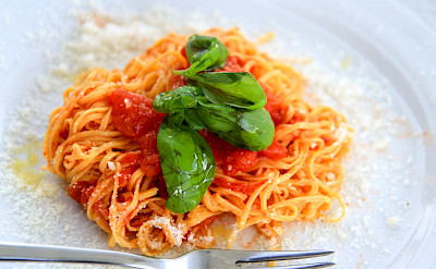 Handmade pastas in the Piedmont region of Italy. ©Photo via TO