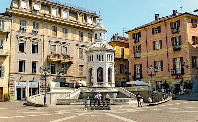 Square in Piedmont, Italy. ©Photo via TO