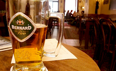 Bernard beer is a favorite in the Czech Republic. Flickr:Megan Eaves