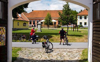Bike rest in Budweis, Czech Republic. Flickr:Elb Els