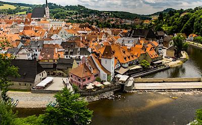 Český Krumlov on the Vltava River in the Czech Republic. Flickr:Ebs Els