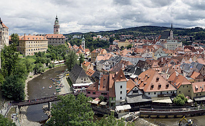 Český Krumlov, the Castle grounds are a UNESCO World Heritage Site. CC:Jerzy Strezekecki
