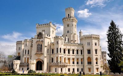 Schloss Frauenberg in Hluboká nad Vltavou, Czech Republic. Flickr:Herbert Frank