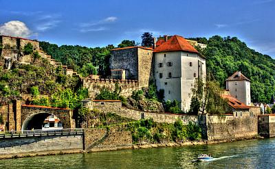 Veste Niederhaus in Passau, Germany. Flickr:Polybert49