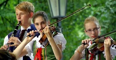Local celebrations in Pisek, Czech Republic. Photo via Flickr:Donald Judge