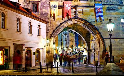 City gate in Prague, Czech Republic. Flickr:Moyan Brenn