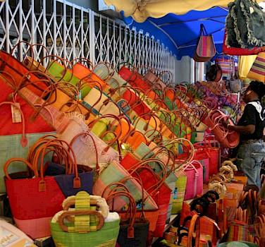 Market of L'Isle-sur-la-Sorgue.