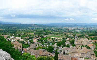 Overlooking the Luberon region in France. Flickr:Andrew Gustar