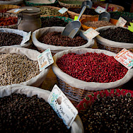 Spices for sale in Luberon, France. Flickr:Ben & Gab