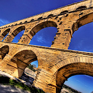 The famous Pont du Gard in Provence, France. Creative Commons:Wolfgang Staudt