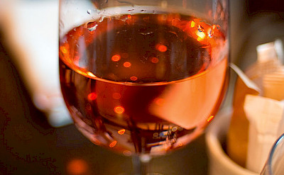 Rose wine is a favorite in Provence, France. Creative Commons:Ashley Pomeroy