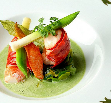 Lobster in France! Photo via Flickr:Jacques Lameloise