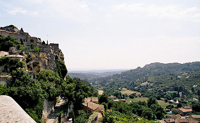 Les Baux de Provence provides a great backdrop for this Provence bicycle tour. Photo via Flickr:Fabrice Terrasson
