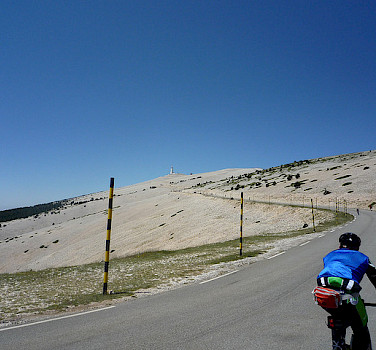 Cycling the famous Mont Ventoux. Photo via Flickr:jack_of_hearts_398