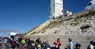 Resting at the summit of Mont Ventoux. Photo via Flickr:jack_of_hearts_398