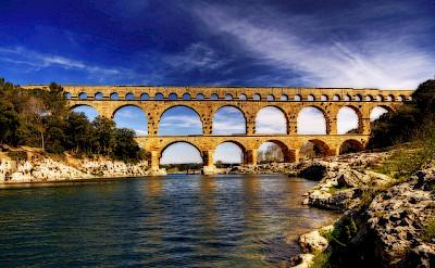 Pont du Gard, Avignon. Photo via Flickr:Wolfgang Staudt