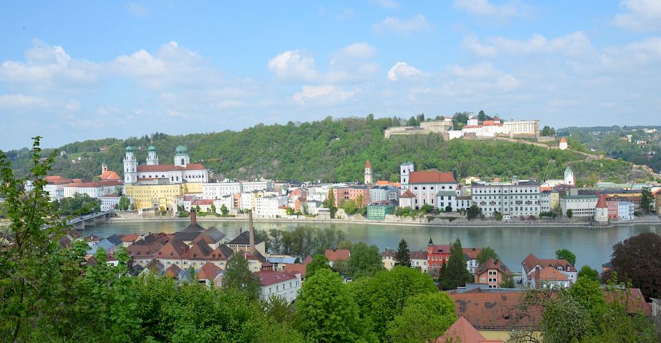 Beautiful Passau in Lower Bavaria, Germany. Flickr:Sugarbear96
